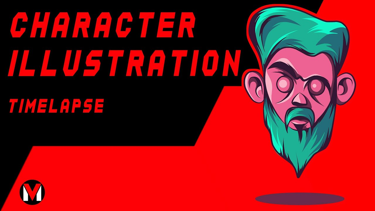 HOW TO MAKE A CHARACTER ILLUSTRATION | TIMELAPSE