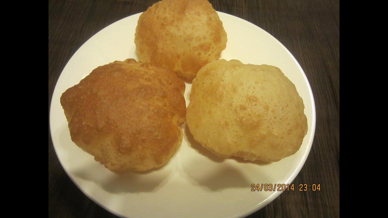 Poori or Puri (in tamil)