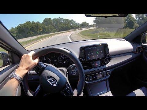 2019 Hyundai Elantra GT N Line (6-Speed Manual) - POV Test Drive