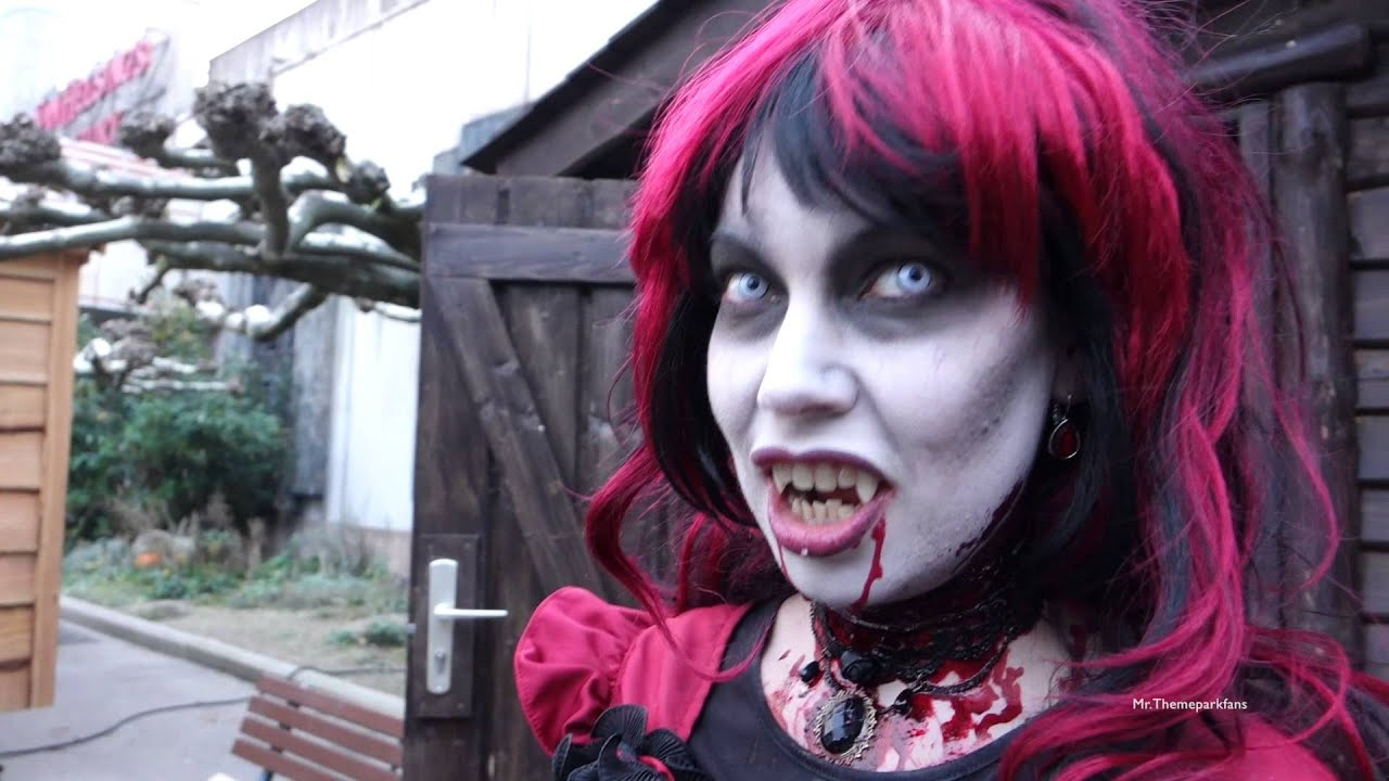 Halloween at Movie Park 2015. :) - YouTube