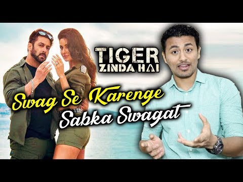 Swag Se Karenge Sabka Swagat - Behind The Scenes | Tiger Zinda Hai | Salman Khan, Katrina Kaif