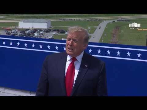 President Trump Delivers Remarks at the Viewing of SpaceX Demonstration Mission 2 Launch