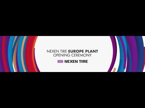 NEXEN TIRE Europe Plant Opening Ceremony