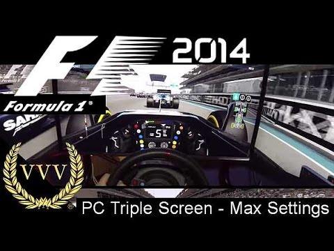 F1 2014 - Abu Dhabi - PC Max Settings - GoPro