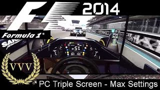 F1 2014 - Abu Dhabi - PC Max Settings - GoPro