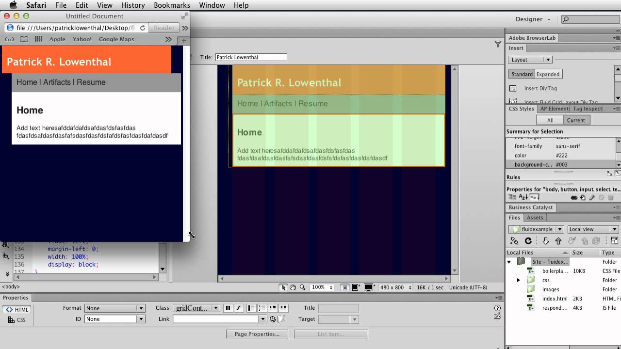 templates for dreamweaver cs6 - create a mobile friendly website using a dreamweaver cs6