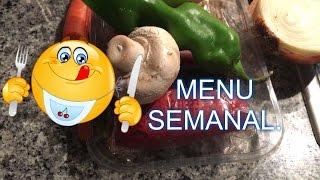 MENU SEMANAL   1    .ideas para hacer de comida