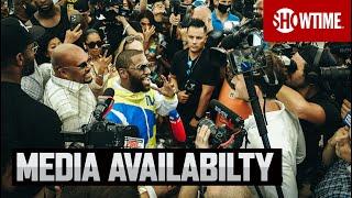 Media Availability With Floyd Mayweather & Logan Paul   SHOWTIME PPV