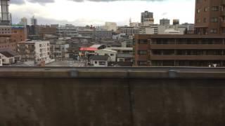 MAXとき310号 新潟駅発車~西跨線橋(2017/2/6)