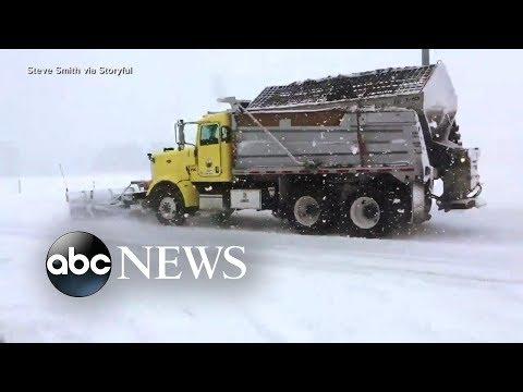 Pacific Northwest slammed by major winter storm