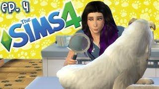 Vet Lauren Has No Idea How to Vet - The Sims 4: Raising YouTubers PETS - Ep 4 (Cats & Dogs)