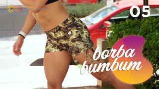 Treino duplo para tonificar os glúteos na área #BorbaBumbum 05 - Carol Borba
