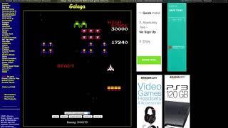 Galaga Screen Record For Class