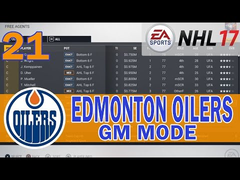 NHL 17 Edmonton Oilers Franchise Mode Ep. 21 | Year 3 Starts With a Bang