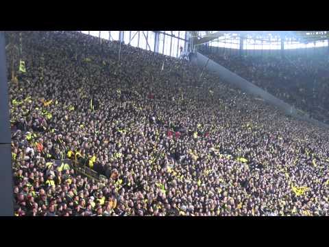 BVB - St. Pauli 2-0 Stimmung Atmosphere Fans Borussia Dortmund 19.02.2011 ドルトムント