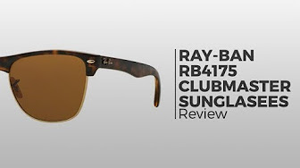 b15e5fe0078 Ray-Ban Clubmaster Review - YouTube
