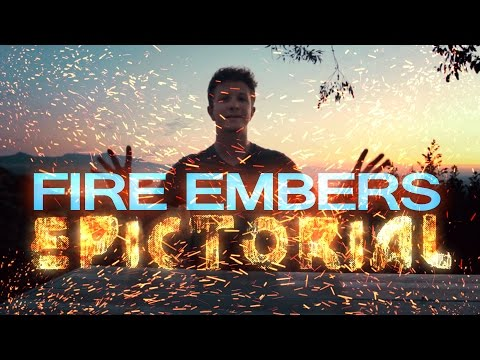 How to make real VFX EMBERS from scratch! - After Effects Tutorial