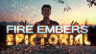 how to make real vfx embers from scratch after effects tutorial