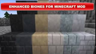 ENHANCED BIONES FOR MINECRAFT MOD