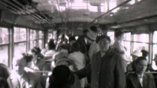 Pfingstausflug mit der Straßenbahn in Rinteln 1962