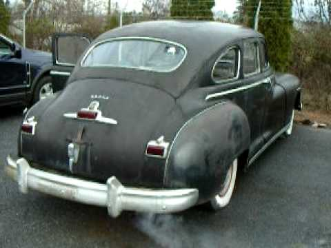 1947 dodge customer sedan mov youtube for 1947 dodge 2 door sedan