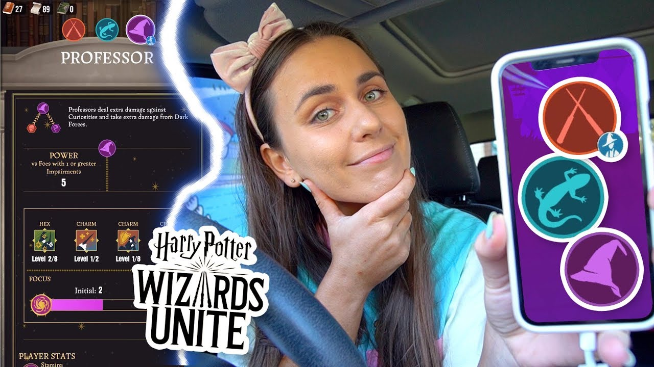 WHICH PROFESSION Should You Choose in Harry Potter Wizards Unite? Auror,  Magizoologist or Professor?