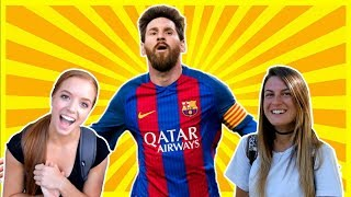 AMERICANS REACT TO LIONEL MESSI