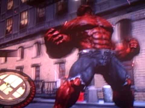 Red Hulk Gameplay #2 (xbox 360)