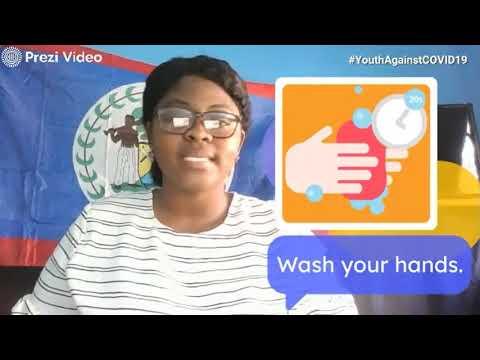 BELIZE: #CaribbeanYouthAgainstCOVID19 and #YouthAgainstCOVID19 - Jenean Saba