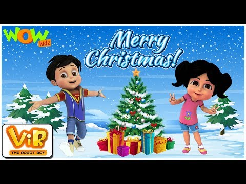 Vir: The Robot Boy  Christmas Special Compilation  Cartoon for Kids  WowKidz