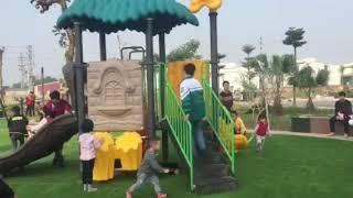 Sân chơi chung cư Golden Park - Quế Võ, Bắc Ninh