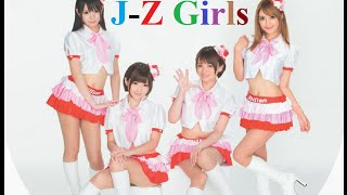 J-Z Girls song - Super sexy heroines japan - Series off the air - Fuori onda della serie