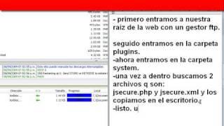 solucion a error de plugin (plgSystemJSecure) system - jsecure authentication en joomla