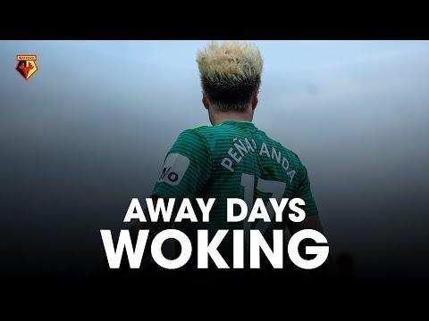 FA CUP AWAY DAYS   PEÑARANDA DEBUT AGAINST WOKING 🙌🏻