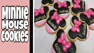 Minnie mouse Cookies  sweet escape recipes