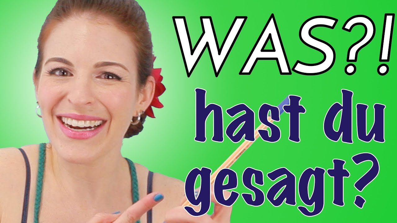 Humorous Issues I Say in German (VIDEO AUF DEUTSCH!)