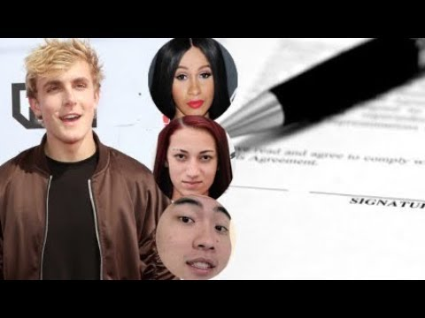 Jake Paul signs to Atlantic Records? Atlantic is Signing all Social Media Talent . Rice Gum Next?
