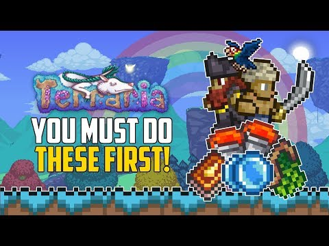 Tremor Top 5 Weapons You Must Try Terraria 1 3 Mod Youtube