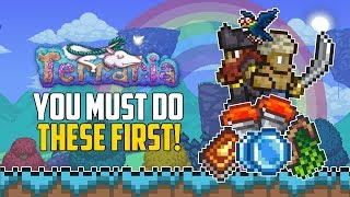 Do THIS straight away in Hardmode! Terraria Top 5 | PC | Console | Mobile