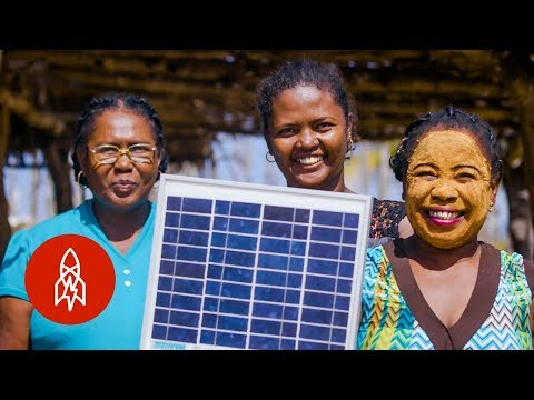 The Grandmas Leading Africa's Solar Revolution