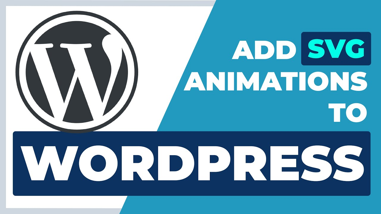 How to Add SVG Animation to WordPress | SVGator