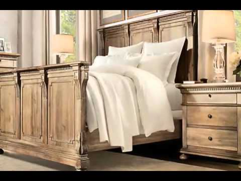Restoration Hardware Bedroom - YouTube