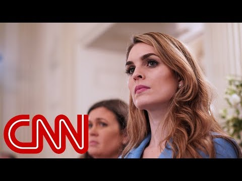Hope Hicks named most powerful person in Washington