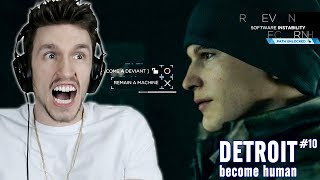 SHOULD I TURN CONNOR DEVIANT OR NOT?? | Detroit Become Human (#10)