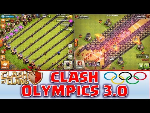 Clash of Clans - Clash Olympics 3.0! *Warden Snaps the Queen* - 동영상