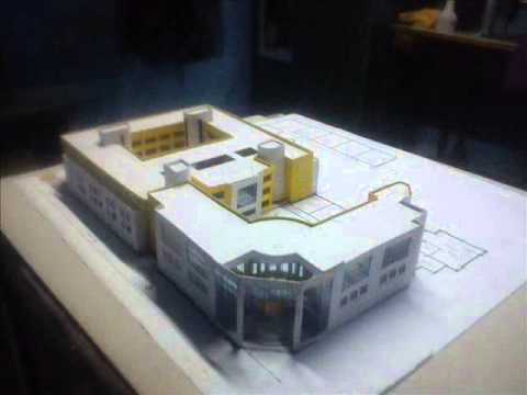 Architecture House Model how to make architecture, building, house model - youtube