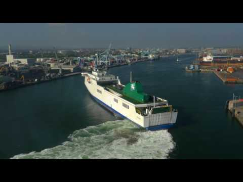 Irish Ferries and Dublin Docks