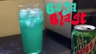 Taco Bell's Mountain Dew Baja Blast Recipe