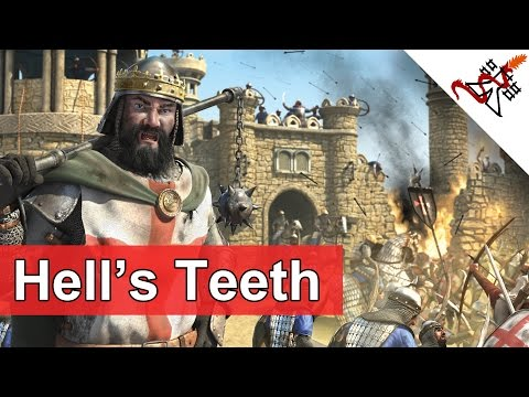 Stronghold Crusader 2 - Mission 3 | Reign of Terror | Hell's Teeth | Skirmish Trail