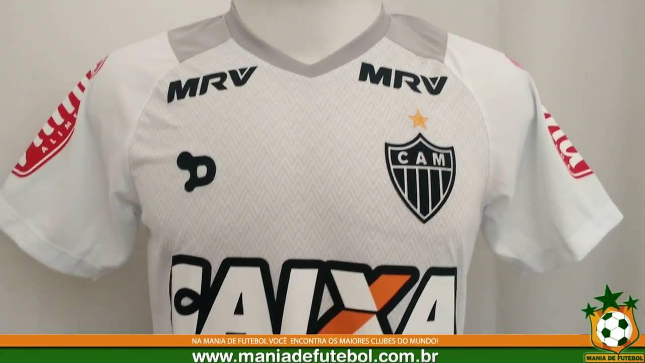 Camisa Goleiro Atlético MG 2016 Dryworld Branca - YouTube 7556c7977f22a